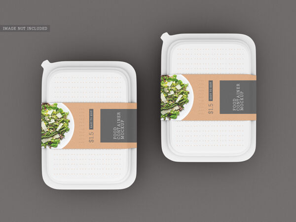 食品盒包装模型