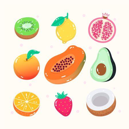 手绘水果系列