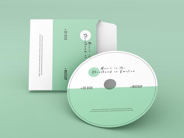 封面和光盘模型
