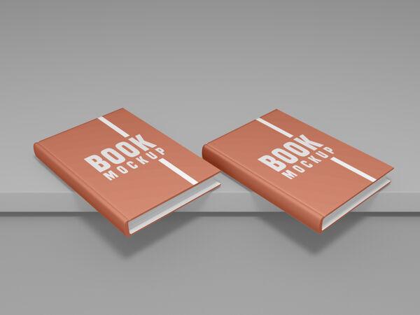 书籍封面设计模型psd