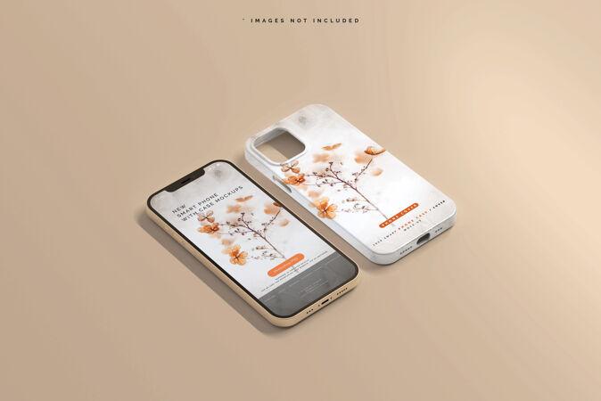 智能手机外壳或外壳模型